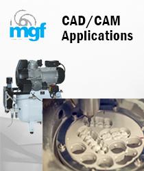 Oil free compressors - CAD/CAM Milling Applications