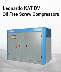 LEONARDO KAT DV - Oil Free Screw Compressors - Catalytic Converter Variable Speed