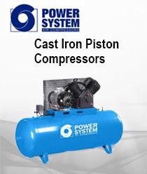 Power System - Cast Iron Piston Compressors