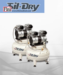 FINI-Sil Dry Silenced Oil Free Compressors for Labs and special applications