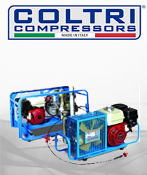 COLTRI - 220/300 Bar Breathing Compressors