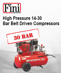 High Pressure 14-30 Bar Belt Driven Compressors