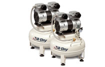SIL-DRY - Single Phase Oilless Compressors