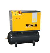 NUAIR - Lubricated Belt Driven Cabinet Silenced Compressors