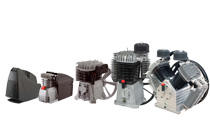 NUAIR - SHAMAL (and ABAC compatible) Piston Compressor pumps