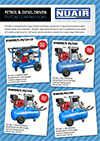 Engine Driven Compressors - NEW Electric start models