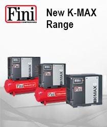 NEW K-MAX Range 5.5kW - 37kW