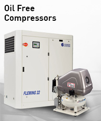 Oil Free Compressor Range