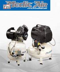 Medicair Dental Oil Less Silenced Compressors