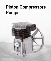 PIston Compressors Pumps and Breakdown diagrams