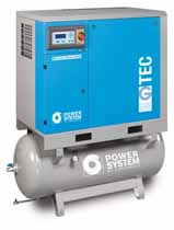 G-TEC 7.5kW-11kW-15kW Screw Air Compressor on 270Lt Receiver