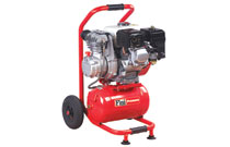 Direct Drive Lubricated Petrol Compressors