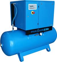 PhaZair-230 VSD Receiver Mounted Without Dryer