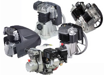 FINI - Piston Compressor Pumps, Direct and Belt Driven