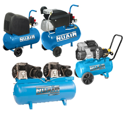 NuAir Piston Compressors - Reconditioned - As New