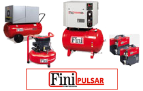 FINI - Lubricated Belt Driven Cabinet Silenced Compressors