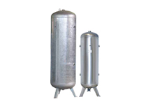 Galvanised Vertical Air Receiver