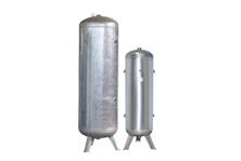 Galvanised High Pressure Vertical Air Receiver